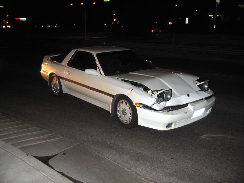 Wrecked Supra